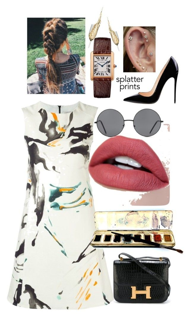 """""""Dont get it twisted"""" by dorseauandrea ❤ liked on Polyvore featuring Eggs, Hermès and Forever 21"""
