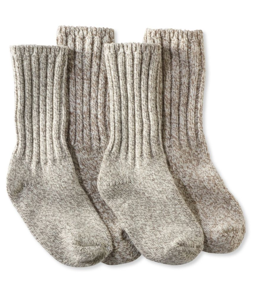 Adults' Merino Wool Ragg Socks
