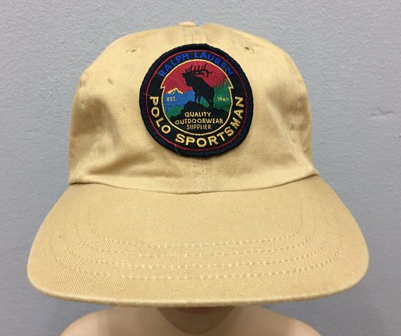 4da21a9dc3a9c Vintage Polo Sportsman By Polo Sport Ralph Lauren Baseball Hat Cap ...