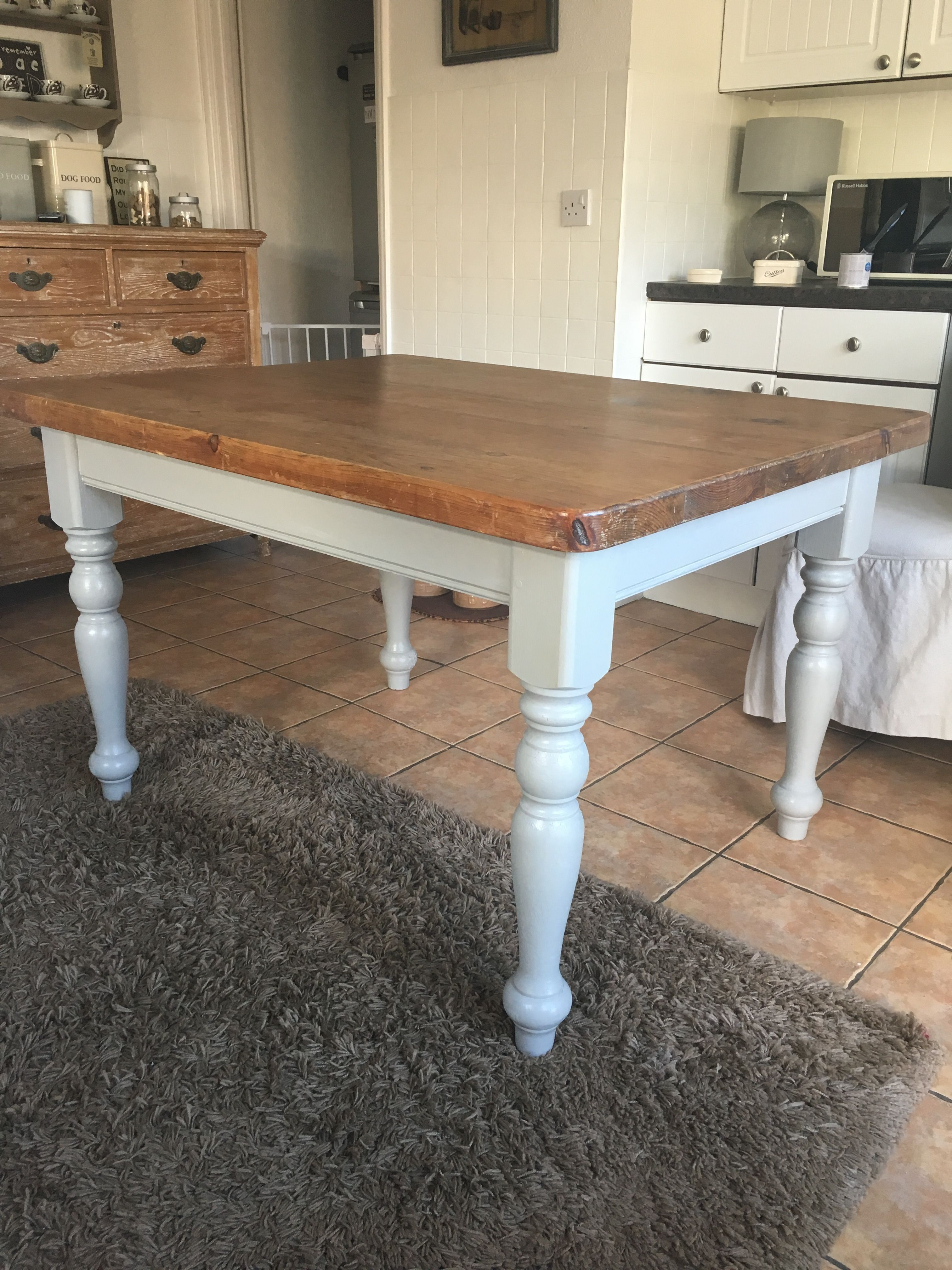 Just Transformed The Kitchen Table Also  Another Auction Bargain