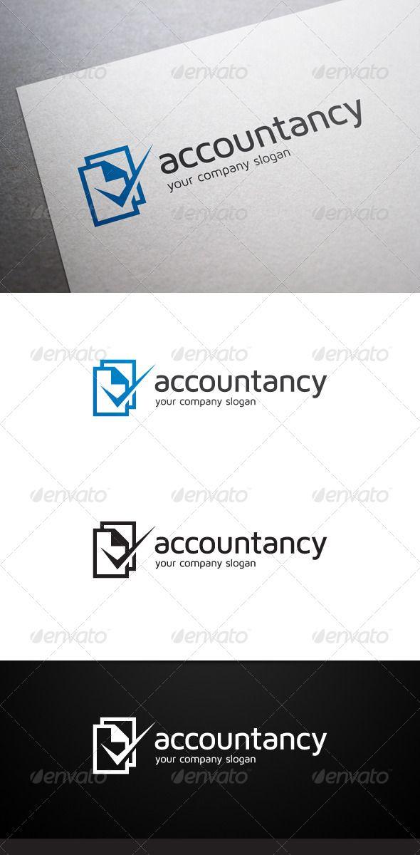 Accountancy Logo Logos, Fontes e Cores - invoice logo