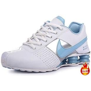 667bc33c20f ... httpwww.asneakers4u.com Womens Nike Shox Deliver White Blue Nike Shox  Deliver Mens ...