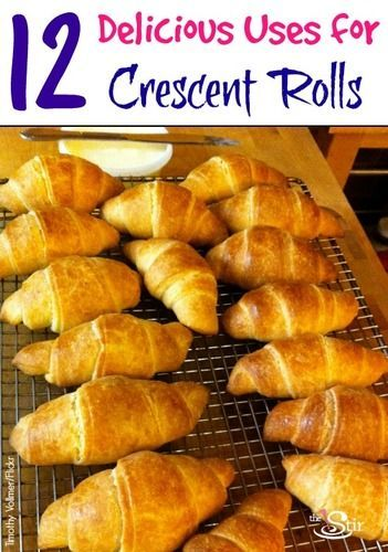 There are SO many recipes you can make easier with crescent rolls -- the nutella wraps may be the best on the list, but we're not sure!