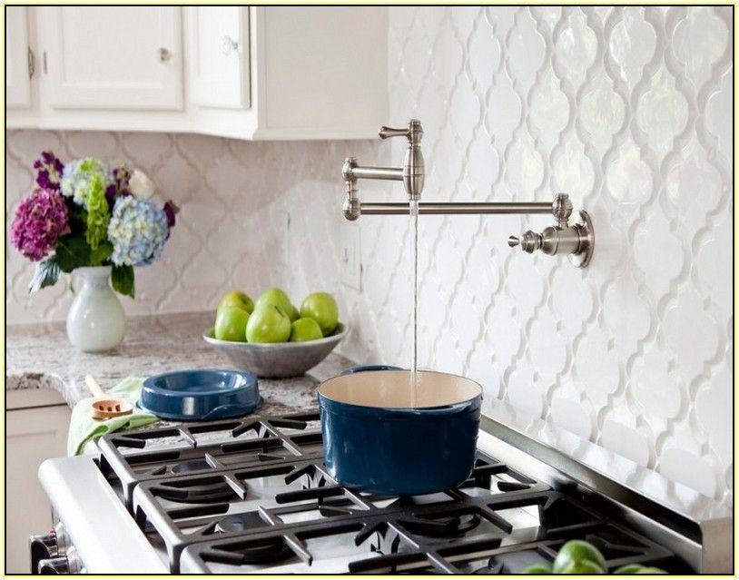 Light Blue Moroccan Tile Backsplash | Home Design Ideas | kitchen ...