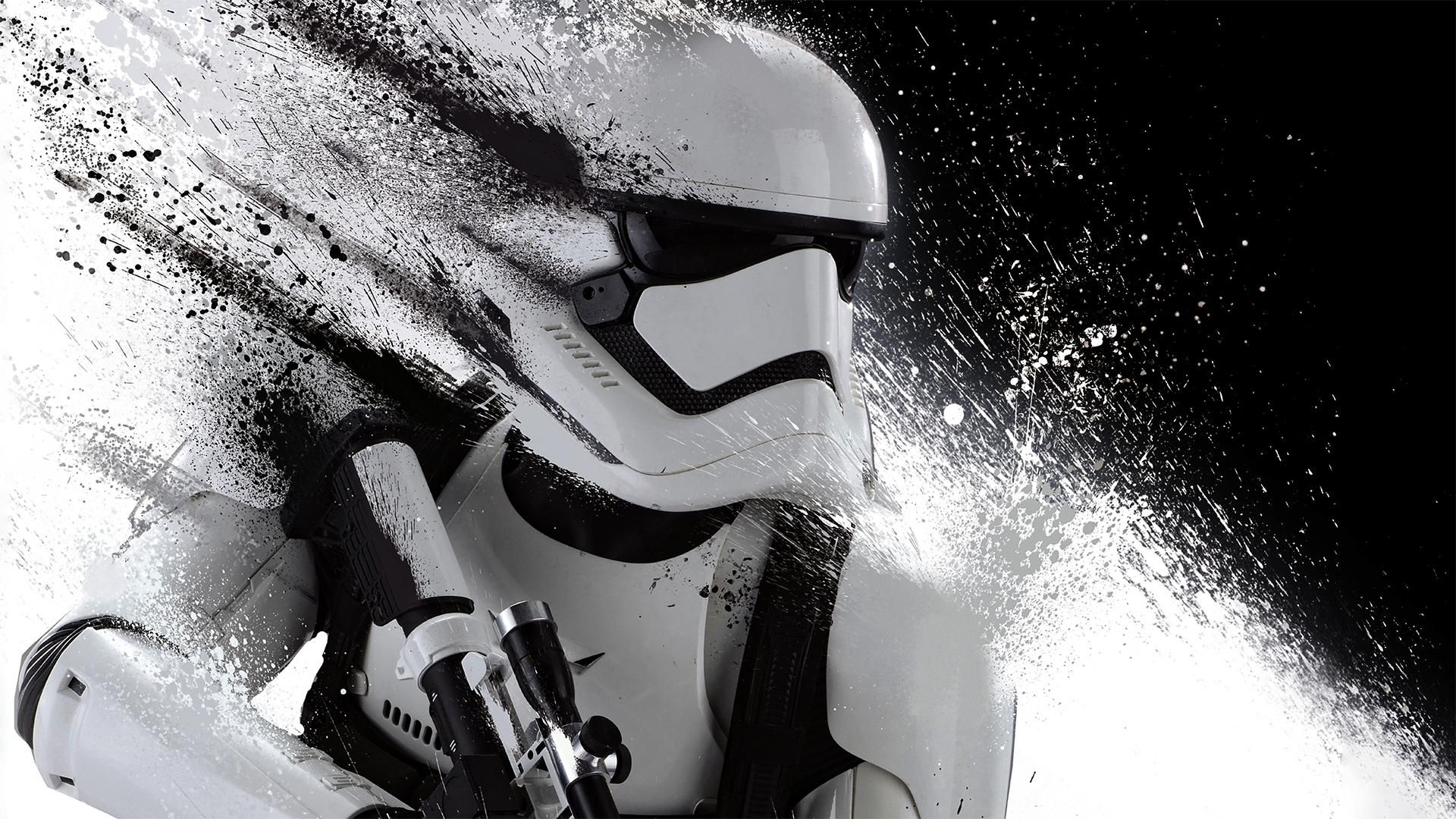 Scaled Down A Stormtrooper Wallpaper To 16 9 In 4 Resolutions R Wallpapers Star Wars Wallpaper Star Wars Stormtrooper Background Hd Wallpaper