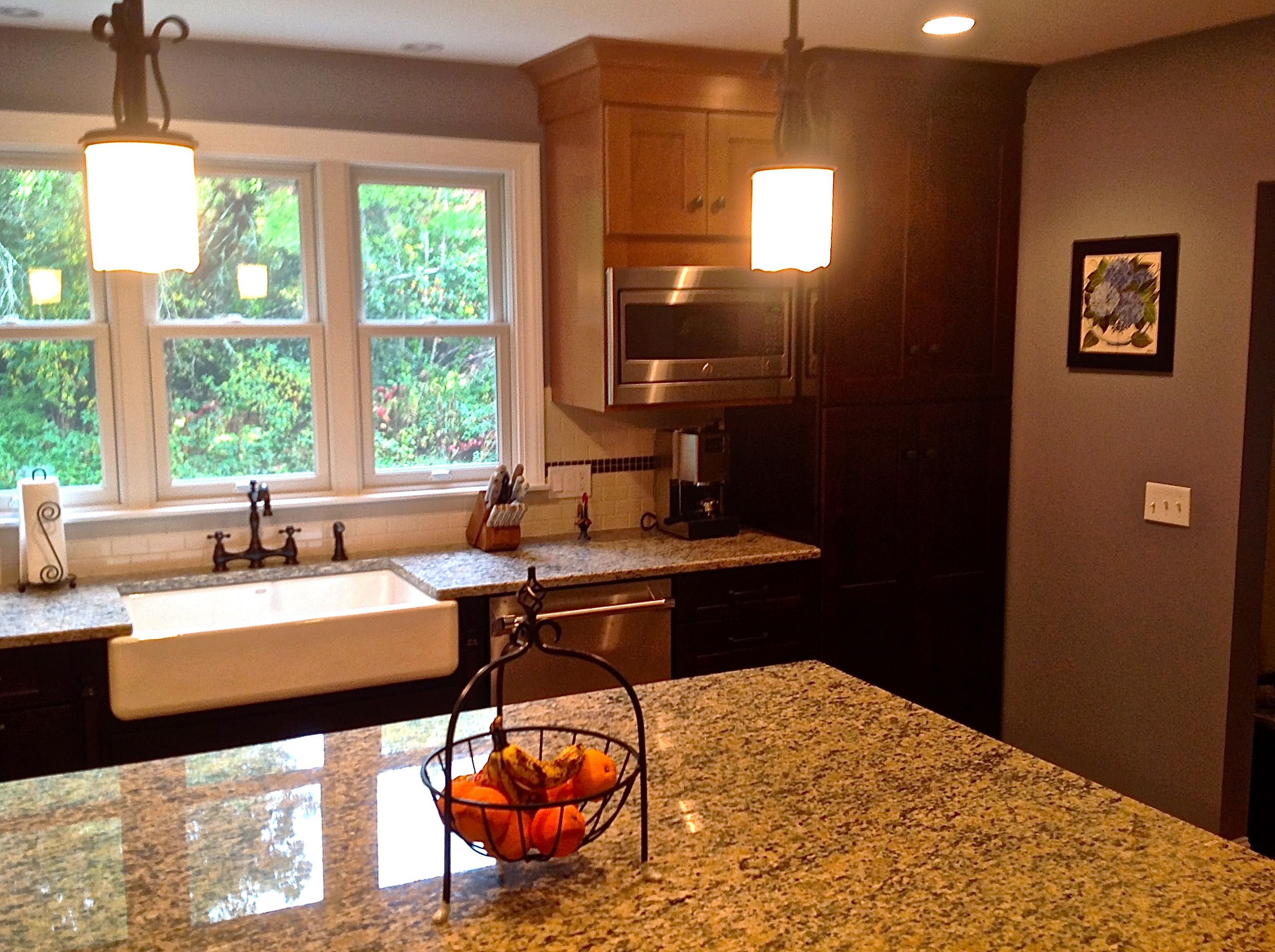 rustic kitchen remodel located in rehobothma shaker style wall