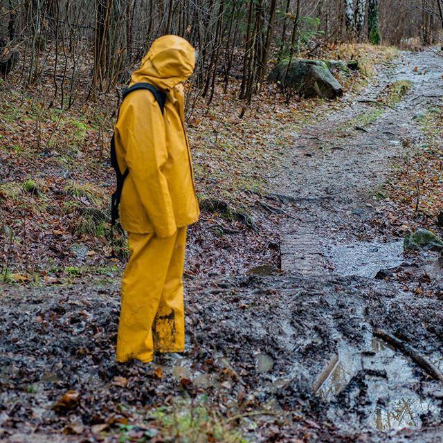 This is a nice place to lay down and get dirty, and roll in the mud untill someone comes along down the track, then get up slowly and tell them it was a good thing I wore a proper rainsuit. #track #mud #nature #trip #expose #flau #deilig #wonderful #nusfjord #hh #hellyhansen