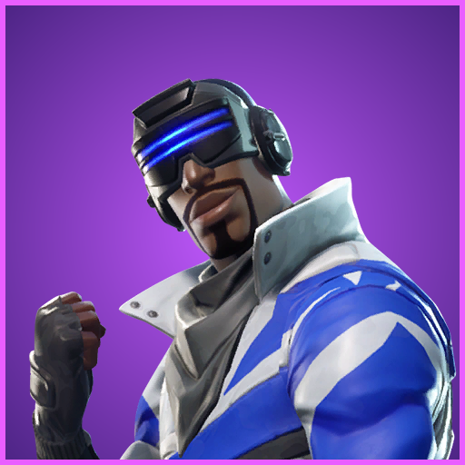 Make Victory Your Reality Fortnite Striker Blue