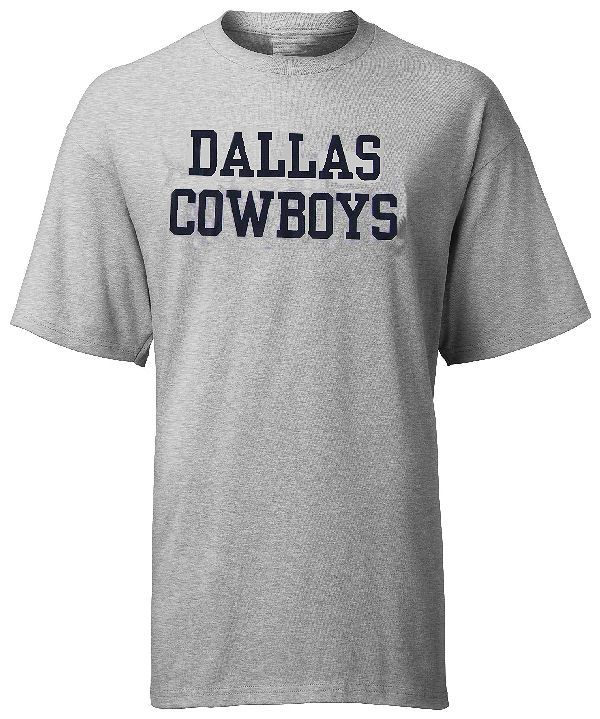 quality design c4126 9b4f6 Dallas Cowboys Coaches Grey Practice T Shirt by Blue Star ...