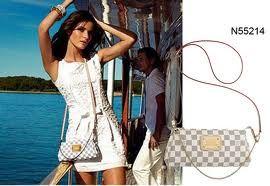 Louis Vuitton Damier Azur Eva Clutch