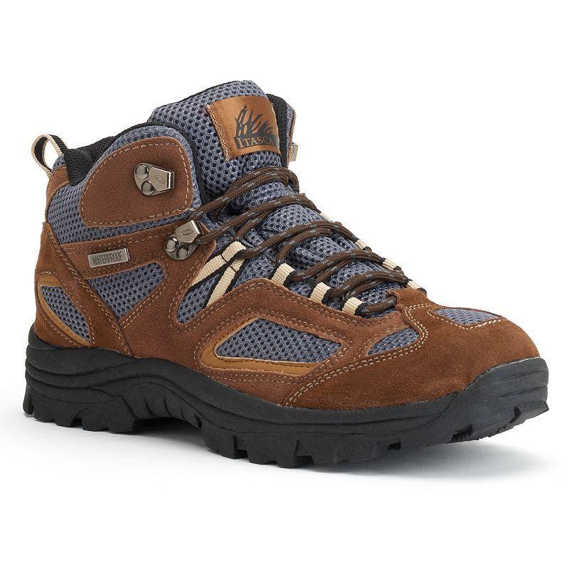 Itasca Ridgeway Men's Lightweight Hiking Boots, Size: 14 Wide, Brown