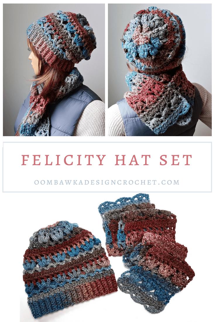 Felicity Crochet Hat Pattern | Hats | Pinterest | Gorros y Tejido