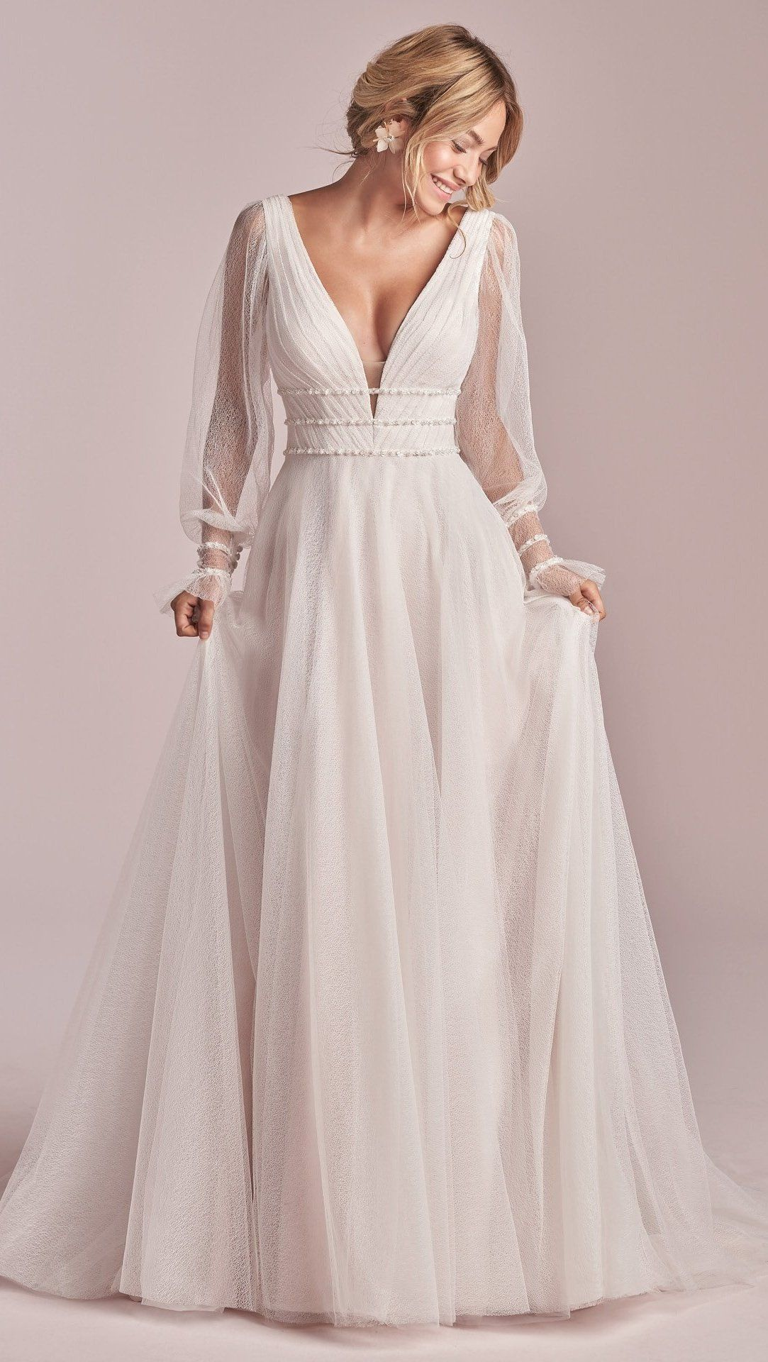 Pin on fall 2020 rebecca ingram wedding dresses