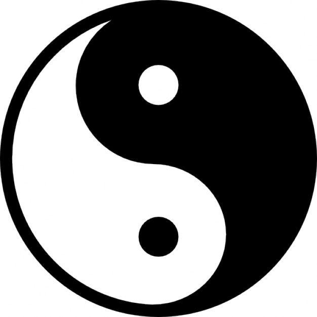 yin yang yin i yang principii fundamentale de via lectii rh pinterest com Flower of Life Art Tiger Dragon Yin Yang