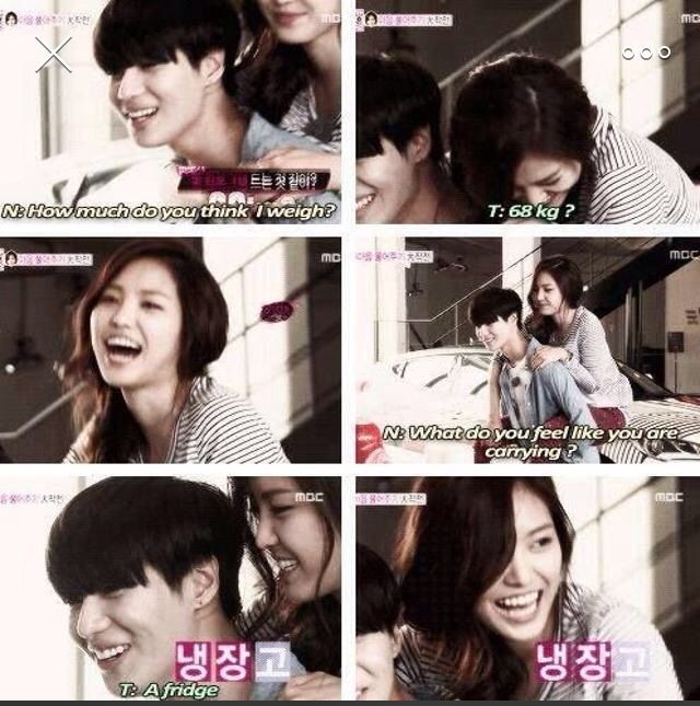 That poor girl XD | Korean Variety Shows | Shinee, Shinee