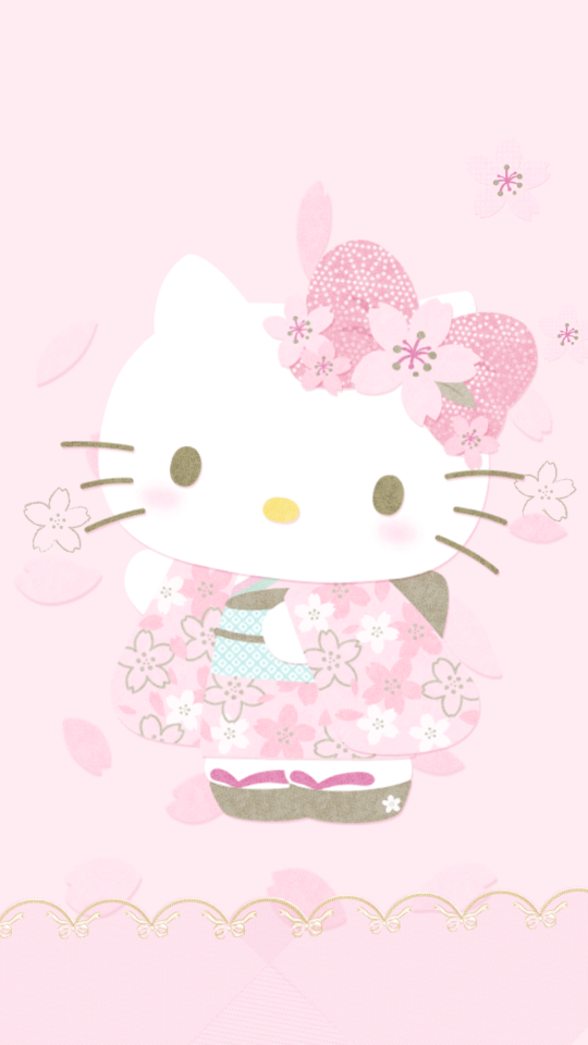 Hello Kitty Kimono Wallpaper Hello Kitty Backgrounds Hello Kitty Pictures Hello Kitty Images