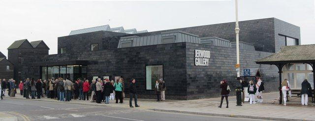 Jerwood Gallery official opening