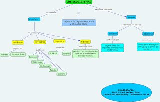 Ecosistemas Mapa Conceptual Ecosistemas Mapa Conceptual