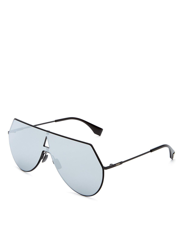 ed54cfa40859 Fendi - Eyeline Shield Mirrored Sunglasses ( 595 CDN)