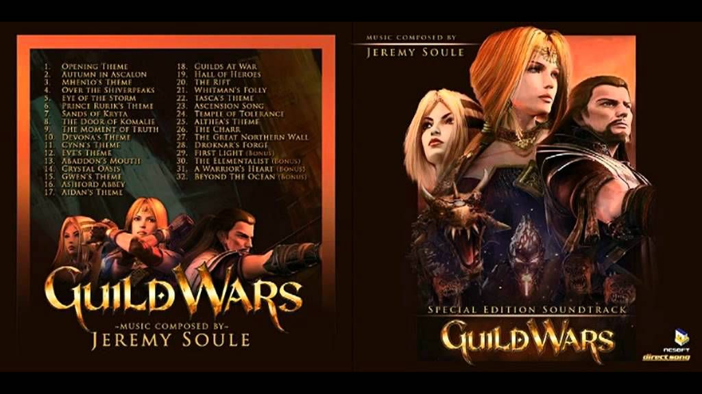Guild Wars Prophecies Ost Guild Wars Fear Not This Night Eye Of The Storm