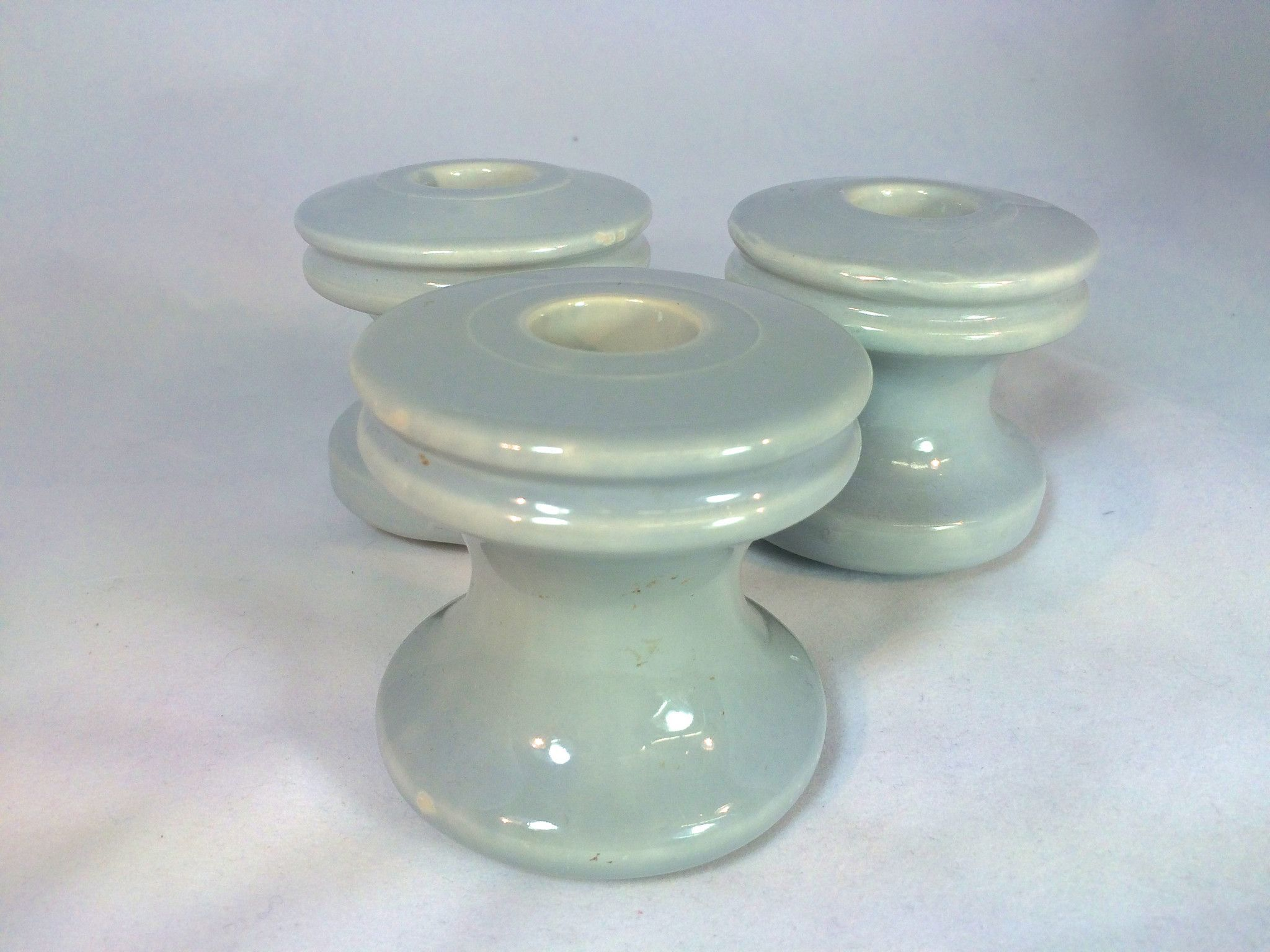 Blue porcelain insulators products pinterest glass for Collectible glass insulators
