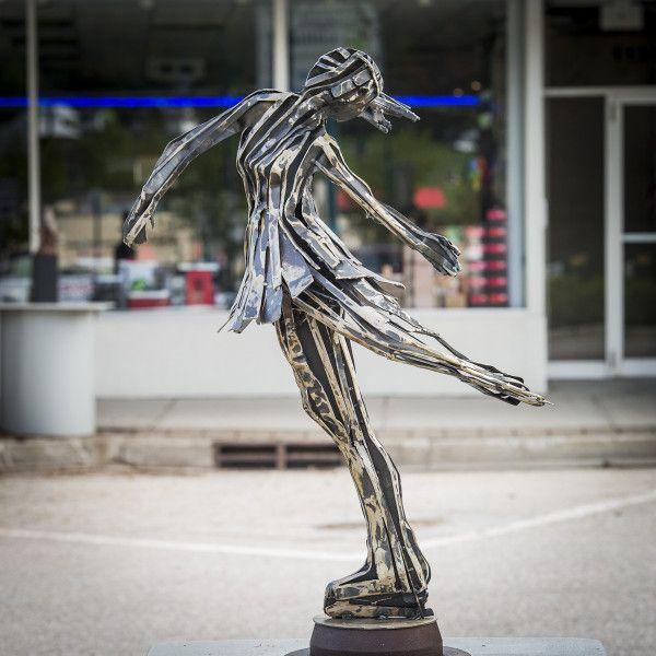 Heel Grab & Spin by Judd Nelson - Castlegar Sculpturewalk