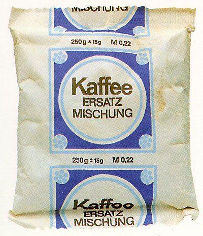 kaffee ersatz mischung 250 g 15 g evp m 0 22 coffee ersatz made in 39 gdr im. Black Bedroom Furniture Sets. Home Design Ideas