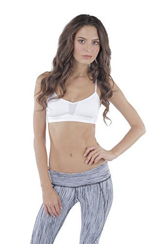 82aba079be Alo Yoga Womens Goddess Sports Yoga Bra Extra Small White     Find out more  about the great product at the image link.(This is an Amazon affiliate link  and ...