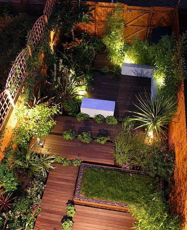 Ideas para patios peque os decoraci n de jardines peque os jard n jardines jardines - Ideas para patios pequenos ...