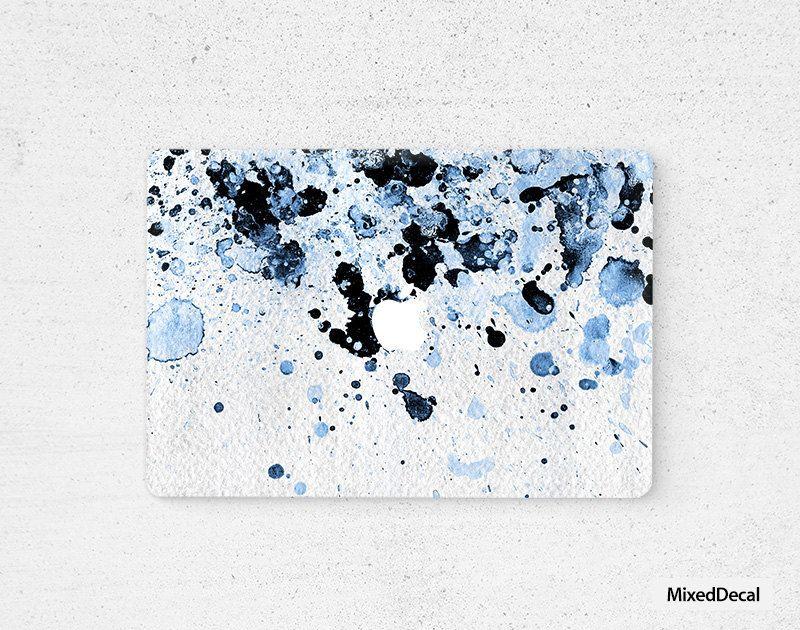 MacBook Air sticker Skin Full cover Boom Blue Marble