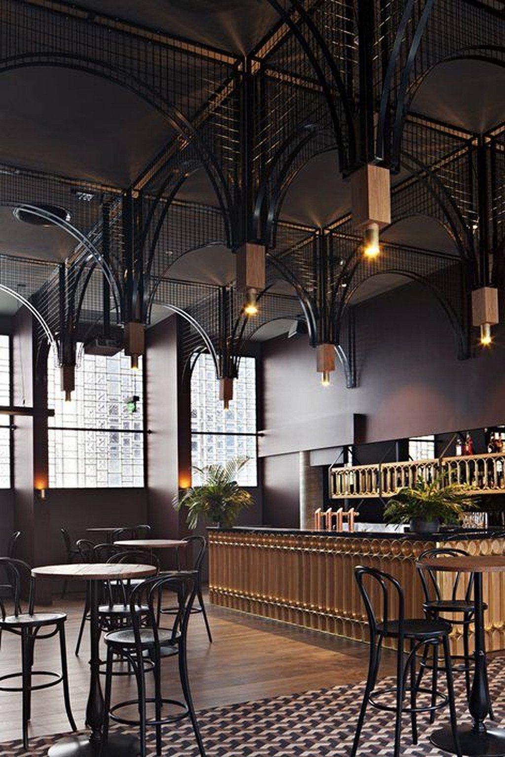 Cafe Interior Ideas Creative 2 MOBmasker Cafe bar
