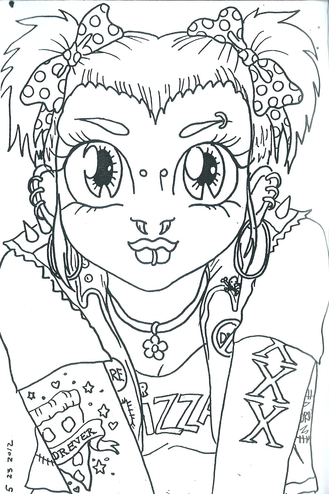 ivyCLAiRE*s | GiRLZ! Coloring Book! | Online Store Powered ...