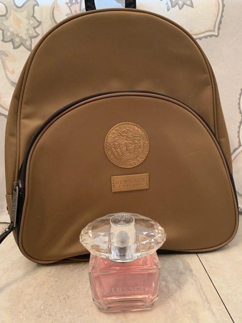 Versace Bright Crystal 3 0 Oz Eau De Toilette Spray Versace Backpack Versace Bright Crystal Backpacks Versace Backpack