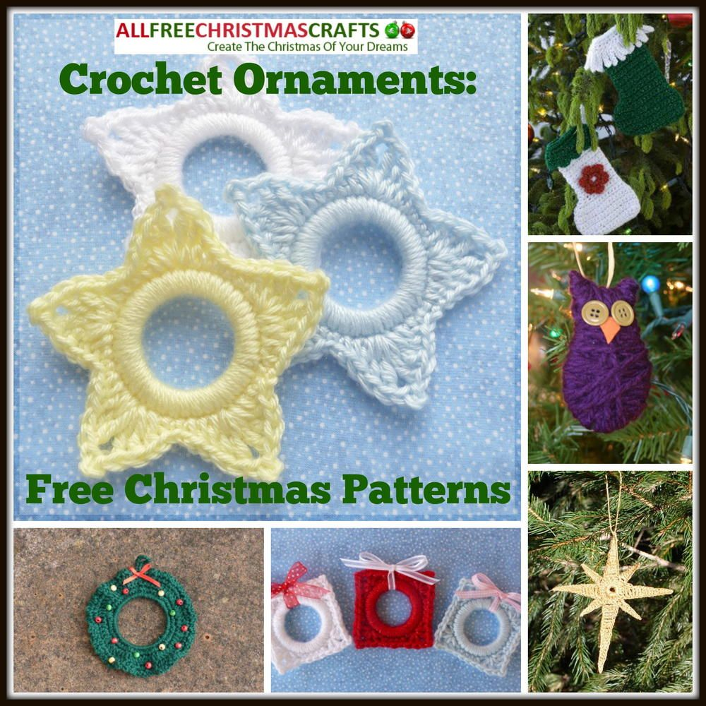 Crochet ornaments 27 free christmas patterns ornament crochet crochet ornaments 27 free christmas patterns bankloansurffo Choice Image