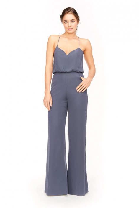 Bari Jay 1964 Blouson Bridesmaid Jumpsuit