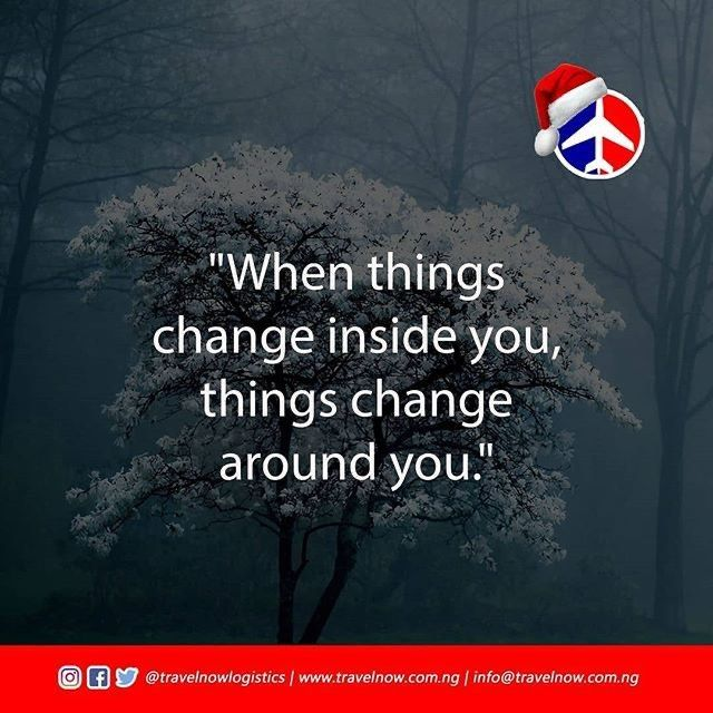 """Reposting @vsoto8: """"When things change inside you, things change around you."""" When you change, peopl..."""