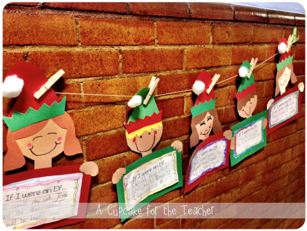 I'm joining my girls Michelle  and Mel D.  for an Elf in the Classroom Linky Party! How fun! Our little elf friend made his debut on Tues...