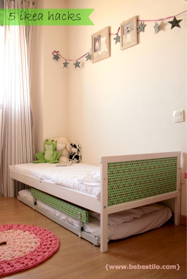 DIY cama nido ikeahack - guirnalda estrellas | Hogar | Pinterest ...
