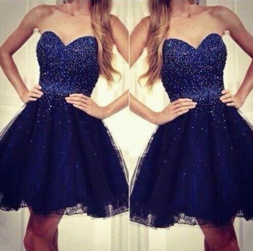 New Fashion Tulle Appliques Pearls Ruched Elegant A-Line Homecoming Dresses Sleeveless Sweetheart Off the Shoulder Party Dress