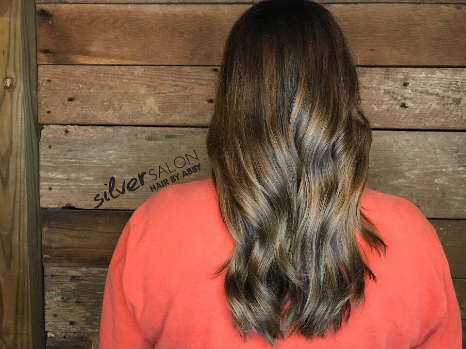 Chocolate Base Color Caramel Balayage By Abby Balayage Long Hair Styles Hair Styles