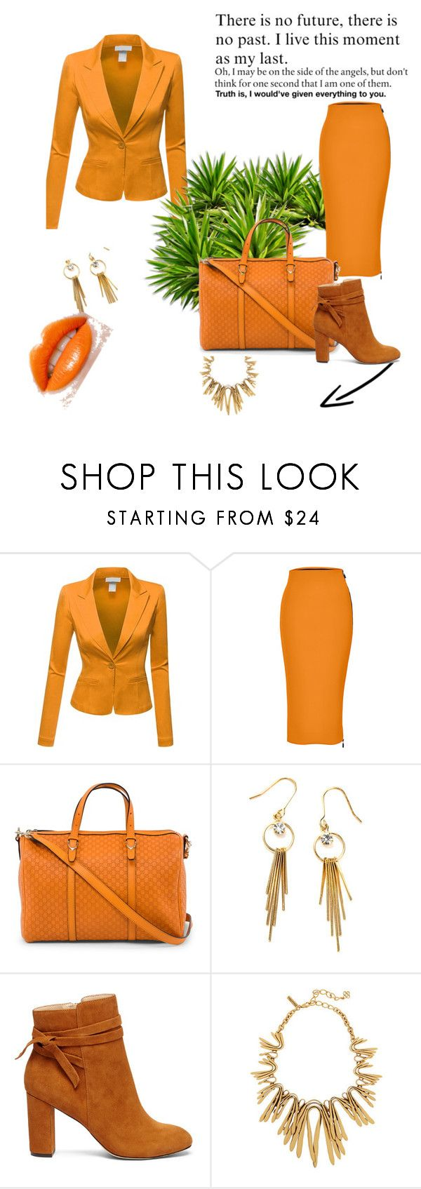 """set 60"" by nudzi-ded ❤ liked on Polyvore featuring Doublju, Maticevski, Gucci and Sole Society"