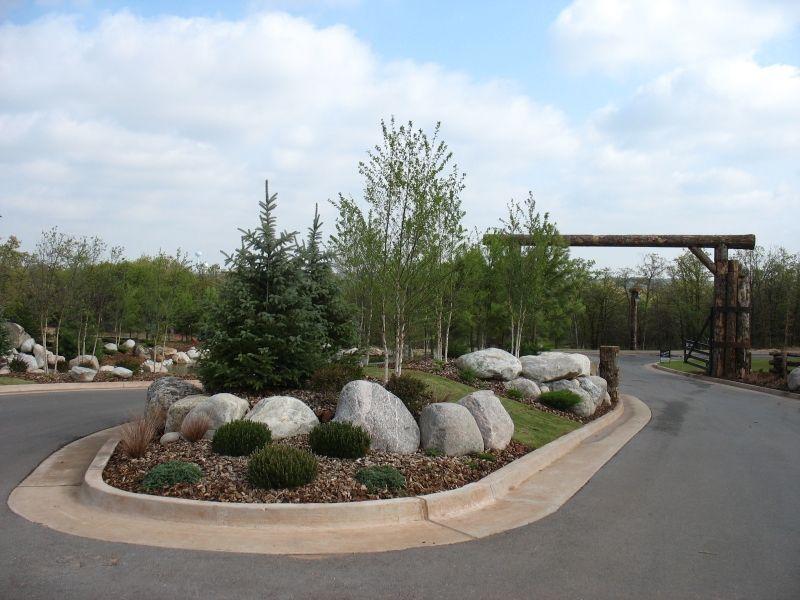 Design help on a high end subdivision entrance lawnsite for Entrance landscape design