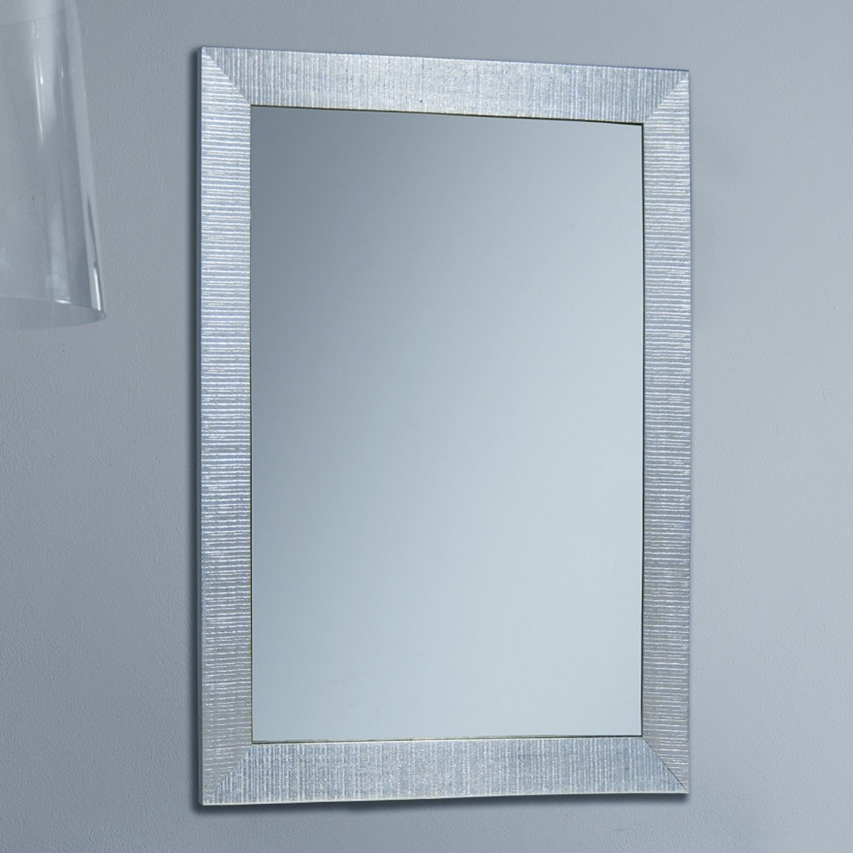 Specchio rettangolare da ingresso Consuelo con cornice ...