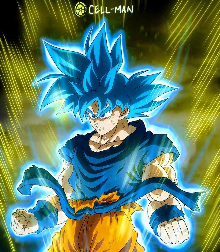 Goku Super Saiyan Blue Dragon Ball Super Dragon Ball Artwork Dragon Ball Wallpaper Iphone Dragon Ball Art