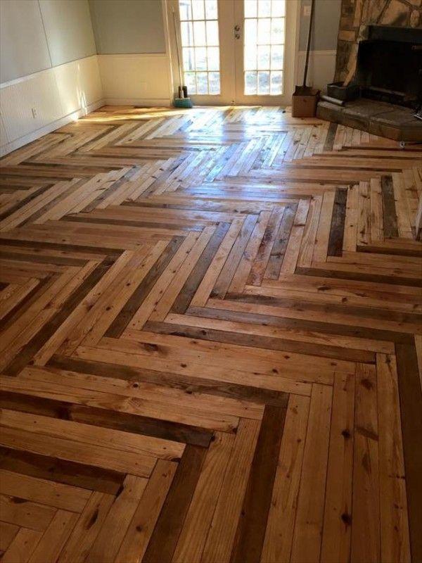 Interior Floor Wit Pallets Inspiring Ideas Pallet Floors