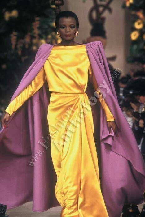 417d8dee59b Yves Saint Laurent | Fall 1987 | Antique & Vintage Fashion in 2019 ...