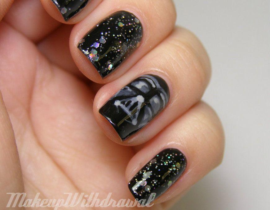 Darth Vader Nails!