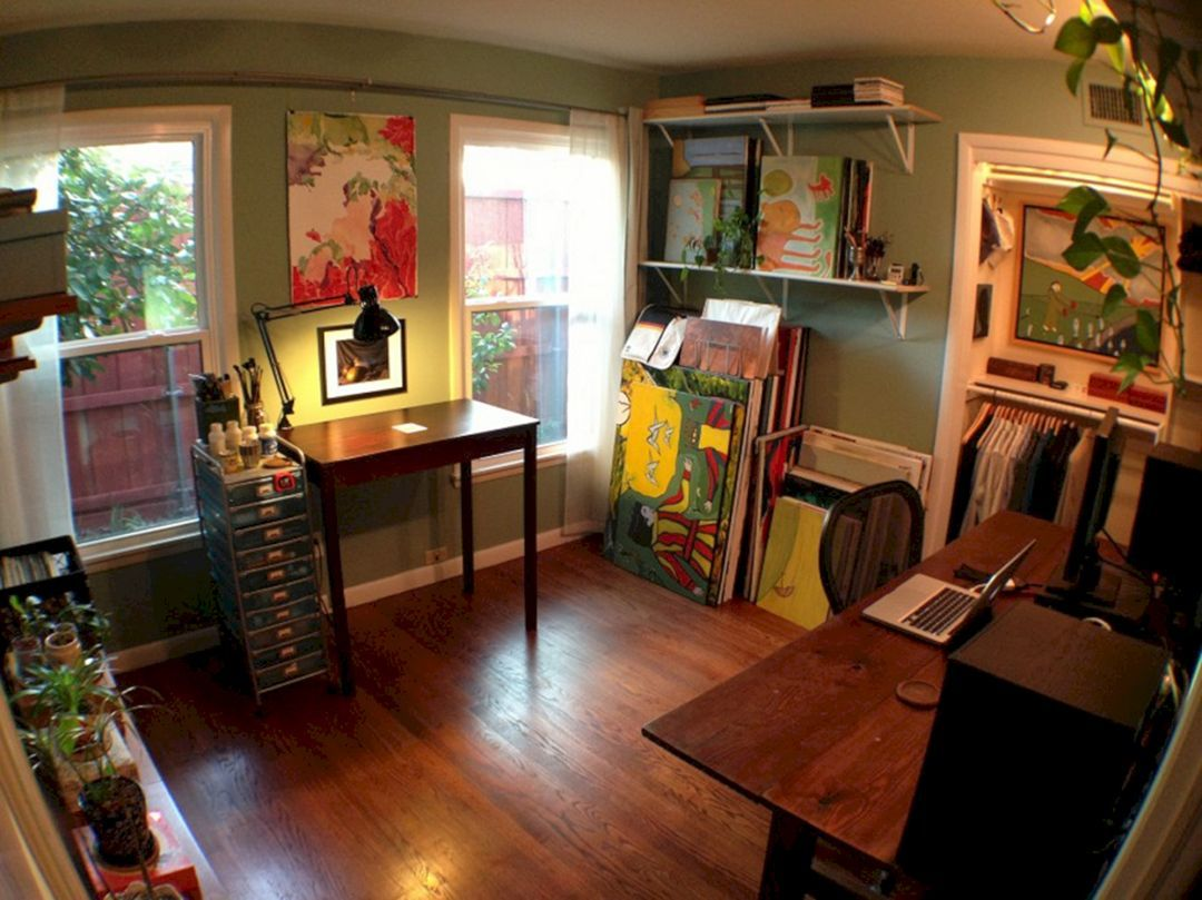 65 Stunning Art Studio Design Ideas For Small Spaces Freshouz