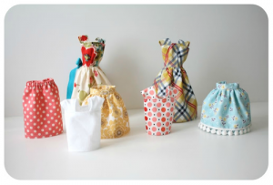 Coats and Clark Sewing Secrets -  DIY Doll Clothes = Really Cute