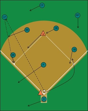 Photo of Fly Ball Left Field